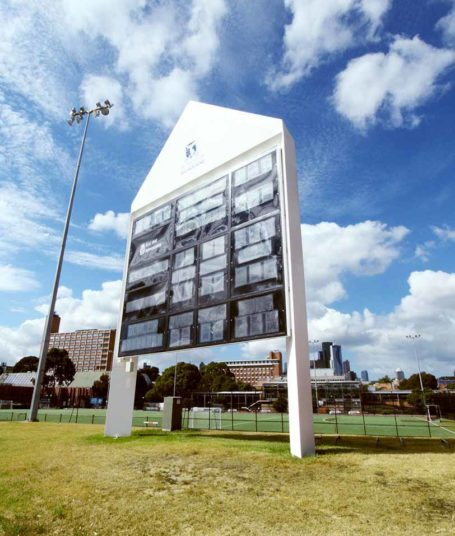 UoM Scoreboard Pavillion