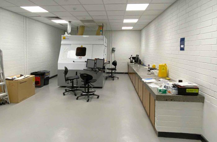 New Laboratory for PCB Machine